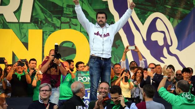 Lega Nord, No al referendum, referendum, Matteo Salvini, Sicilia, Politica