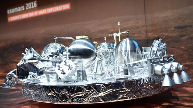 exoMars, lander schiaparelli, marte, pianeta rosso, Sicilia, Cronache tra le Stelle