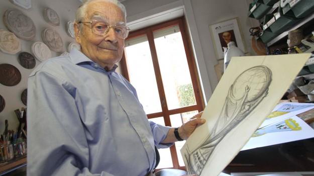 coppa del mondo, morto scultore coppa del mondo, Silvio Gazzaniga, Sicilia, Sport