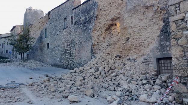 basilica san benedetto, protezione civile, terremoto norcia, Sicilia, Cronaca