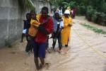 Sfollati ad Haiti dopo il passaggio dell'uragano Matthew - Fonte Ansa