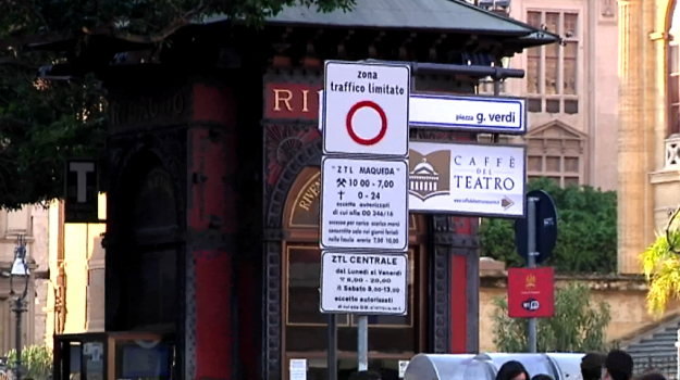 multe ztl a palermo, Palermo, Cronaca