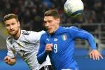 Azzurri senza paura, palo di Belotti: Italia-Germania stavolta finisce 0-0