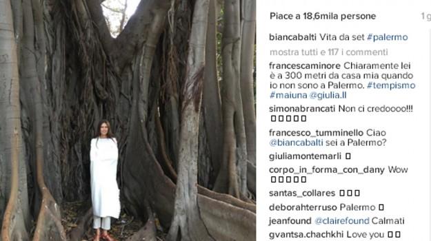modella, villa, Bianca Balti, Palermo, Società