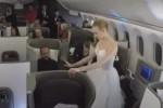 Ballerini del Bolshoi Ballet si esibiscono a bordo di un aereo: è la prima volta al mondo