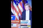 L'elezione di Trump, il figlio di 10 anni lotta contro il sonno durante il discorso del padre