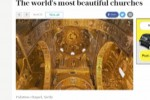 Cappella Palatina tra le 23 chiese più belle al mondo