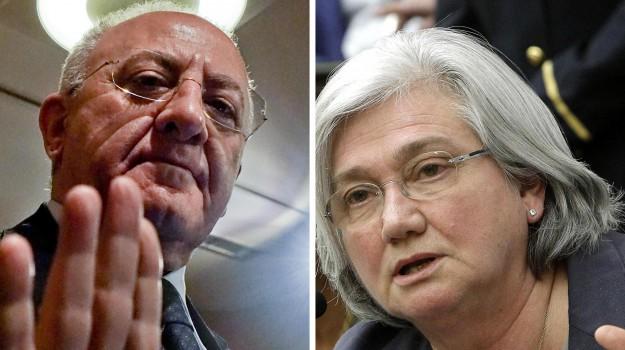 antimafia, commissione, Rosy Bindi, Vincenzo De Luca, Sicilia, Politica