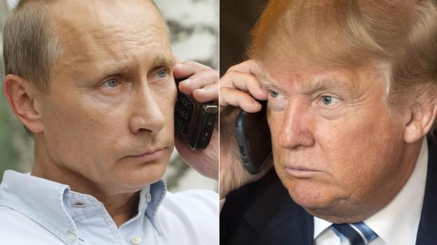 usa 2016, usa-russia, Donald Trump, Vladimir Putin, Sicilia, Mondo