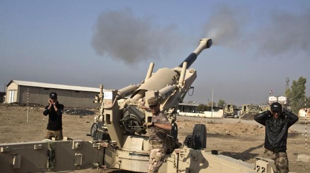 guerra mosul, Isis, truppe irachene mosul, Sicilia, Mondo