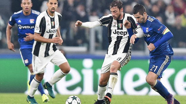 champions league, Juventus Lione, Sicilia, Sport