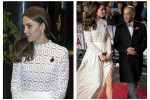 Corpino in pizzo e spacco profondo: sul red carpet il look audace di Kate Middleton