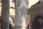 Vandali in azione a Palermo: palchetti della musica di nuovo imbrattati