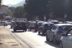 Cantieri al Foro Italico e in viale Regione, traffico in tilt