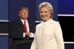 Nei sondaggi Trump a un soffio da Clinton e in campo scende anche Melania