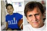 """A 10 anni asso di basket in carrozzina, Zanardi: """"Sostenetelo"""""""