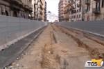 Via La Masa torna libera, si sposta il cantiere dell'anello ferroviario a Palermo
