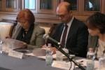 Anas e Prefetture, Alfano firma il Protocollo della legalità a Palermo