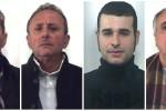 Lupara bianca a Carini tra il '99 e il 2000, nomi e foto degli arrestati