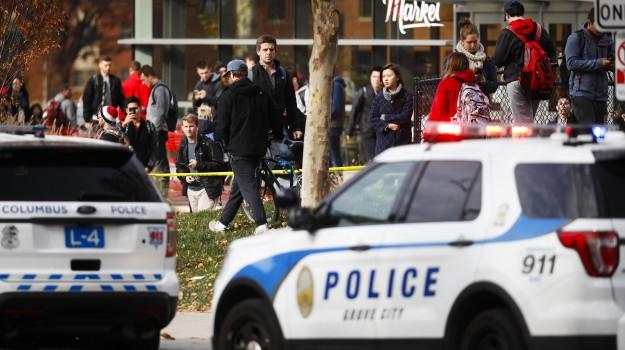 assalto campus Ohio, Fbi, Stati Uniti, terrorismo, Sicilia, Mondo