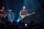 Sting in concerto in occasione della riapertura della grande arena del Bataclan - Fonte Ansa