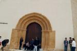 L'antica Chiesa di Santa Maria degli Angeli a Caltanissetta con il portale restaurato