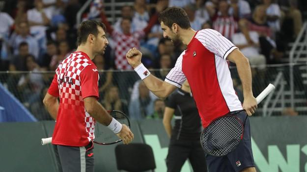 argentina, croazia, Cup, davis, Tennis, Sicilia, Sport