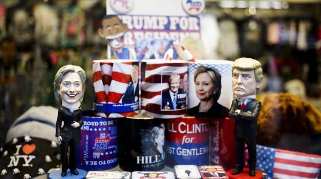 presidenziali usa 2016, Donald Trump, Hillary Clinton, Sicilia, Mondo