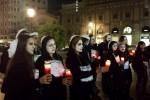 """Referendum, a Palermo un """"corteo funebre"""" a sostegno del No - Foto"""