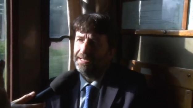 Franceschini sul treno storico Catania-Taormina: serve anche l'alta velocità - Video