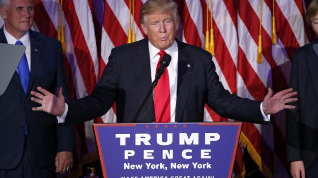 casa bianca, presidente, USA, Donald Trump, Sicilia, Mondo
