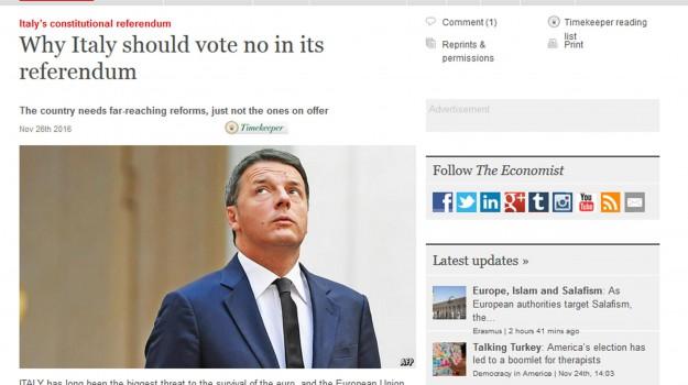 economist, referendum, Matteo Renzi, Sicilia, Politica