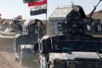 Le forze irachene nel campus universitario di Mosul, roccaforte Isis