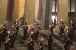 Gornata delle forze armate, fanfare sulla scalinata del Massimo a Palermo