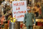 Fidel Castro tra le statuette del presepe: l'omaggio dei napoletani