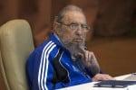 Una delle ultime immagini di Fidel Castro (aprile 2016)