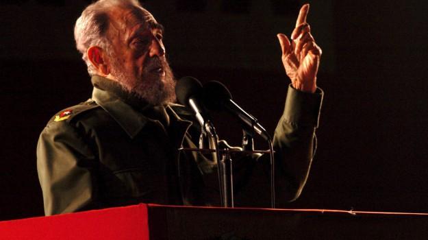 Fidel Castro, Sicilia, Mondo