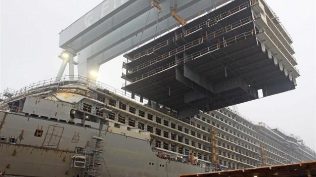 fincantieri, Huarun Dadong Dockyard, Sicilia, Economia