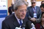 Imprese siciliane, Gentiloni: aumenta l'export ma si può fare di più