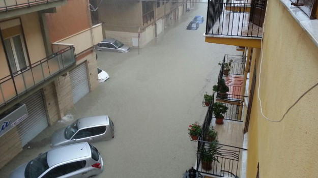 allagamento, licata, pioggia, Agrigento, Cronaca