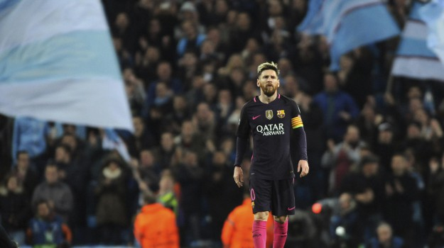 Calcio, champions league, city-barcellona, Lionel Messi, Sicilia, Sport