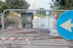 Piogge e allagamenti a Marina Marza, a rischio le colture