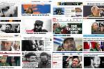 La morte di Fidel apertura di tutti i giornali del mondo