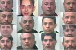 Blitz antidroga nel Catanese, nomi e foto degli arrestati