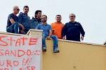 Dipendenti senza stipendio, protesta a Siracusa