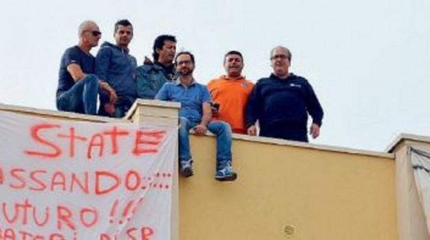 ex provincia, protesta, STIPENDI, Siracusa, Economia