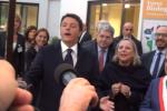 Renzi: il Sud ha preso la crisi in faccia - Le immagini della visita a Catania