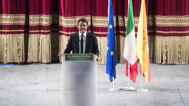 premier, referendum, visita, Palermo, Politica