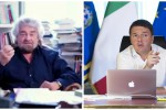 Grillo: fronte del sì serial killer. Renzi: accusa falsa come firme