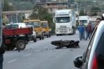 Incidente mortale sulla statale per Misilmeri, le immagini dal luogo dello scontro